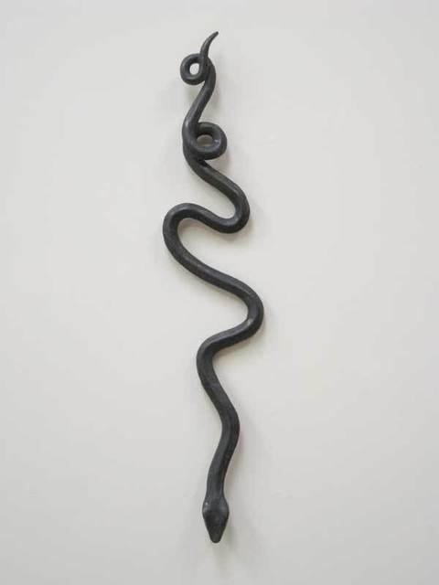 Mark Calderon, 'Untitled (snake 2)', 2009, Sculpture, Cast lead, Nancy Hoffman Gallery