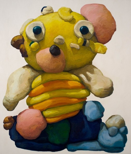 , 'Yellow Bear with Orange Stripes,' 2015, Askeri Gallery