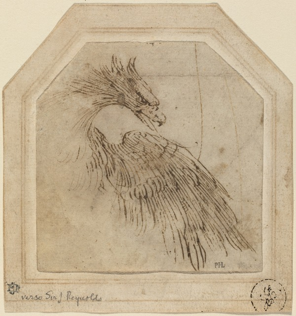 Titian, 'An Eagle', ca. 1515, National Gallery of Art, Washington, D.C.