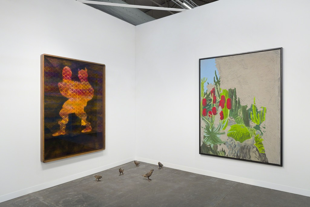 Installation view, Galerie Eva Presenhuber at The Armory Show 2019