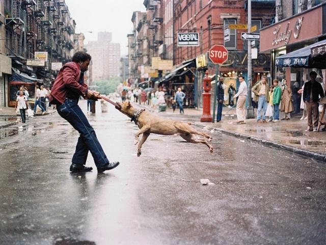 , 'Man and Dog, Lower East Side, Manhattan NYC ,' 1980, Galerie Bene Taschen