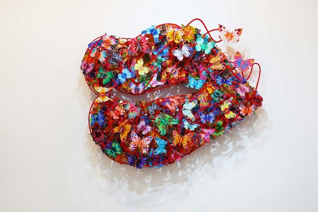 , 'Burning Lips,' 2010, Galerie Duret