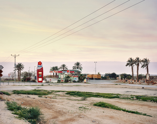 Yaakov Israel, 'petrol station, the judean desert', 2011, Photography, Archival inkjet print on hahnemuhle fine art paper, GALLERY FIFTY ONE