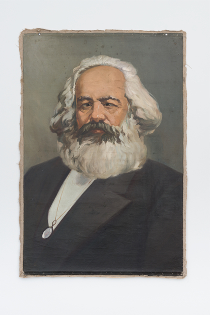 , 'Karl Marx with cross-eyes,' , Galerie Mehdi Chouakri