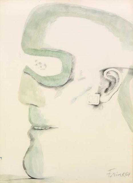 , 'Goggle Head,' 1967, Christopher Kingzett Fine Art