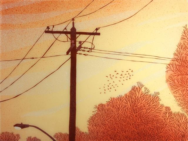 Jeff Sylvester, 'Red Sky', 2019, Kurbatoff Gallery