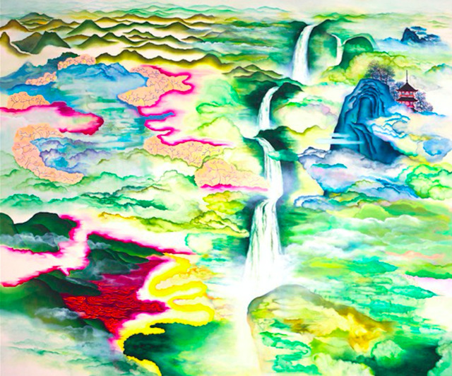 Katy Lynton, 'Waterfall of Celestial Realms', 2009, Ministry of Nomads