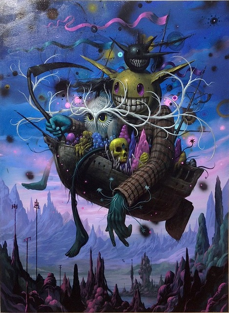 Jeff Soto, 'The Last Voyage II', 2014, KP Projects