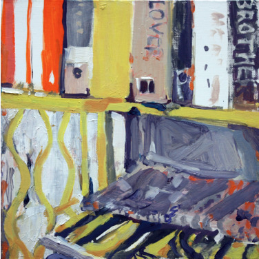 , 'On A Yellow Shelf,' 2011, The George Gallery