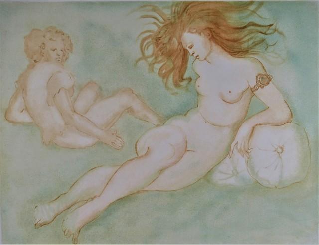 Leonor Fini, 'Un Apres Midi Entier', ca. 1970, Joseph Grossman Fine Art Gallery
