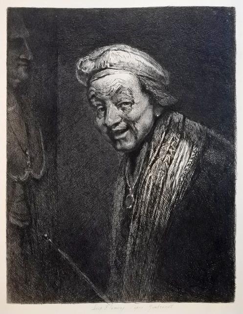 , 'D'après Rembrandt,' 1868, Hans den Hollander Prints