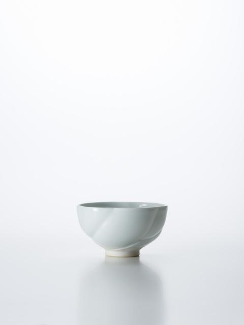 , 'Sculpted Blue-White Porcelain Tea Bowl in Flower Shape,' 2018, Onishi Gallery