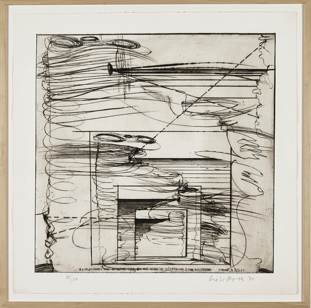 , 'Selfportrait as Horizon Animal,' 1973, BERG Contemporary