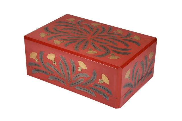 , 'Japanese Lacquer Box,' , Yumekoubou Antique
