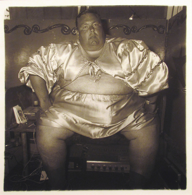 , 'Fat Man at Carnival,' 1970, Carl Hammer Gallery