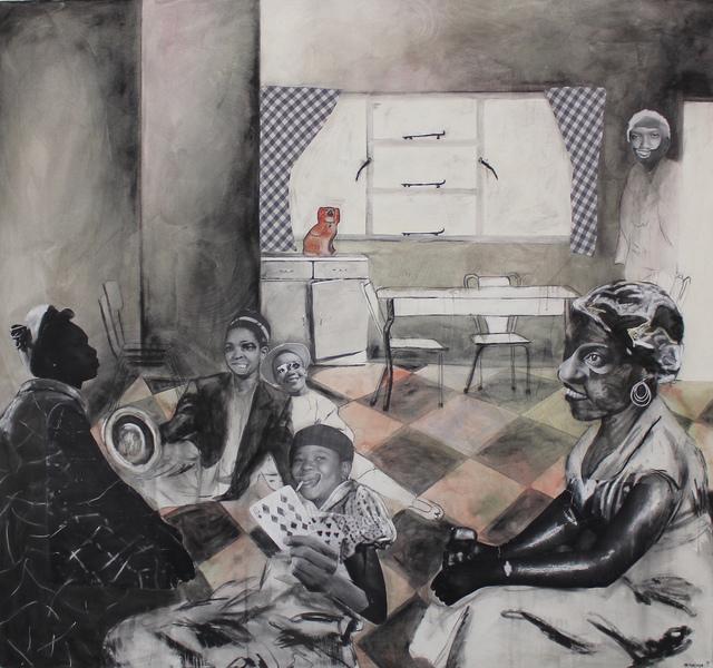 , 'Mehopolo ya go fapana,' 2018, Tyburn Gallery