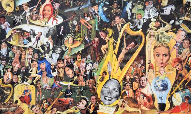 , 'Democratic Nightmare #2,' 2015, Fountain House Gallery