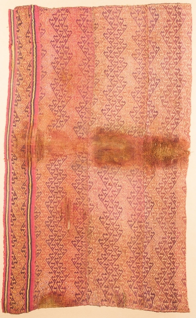 , 'Pink and Purple Textile,' 1100-1400, Muzeion Gallery