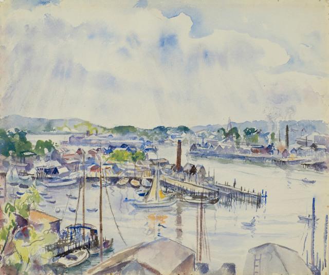 Martha Walter, 'Gloucester Harbor, Massachusetts', 19th -20th Century, Vose Galleries