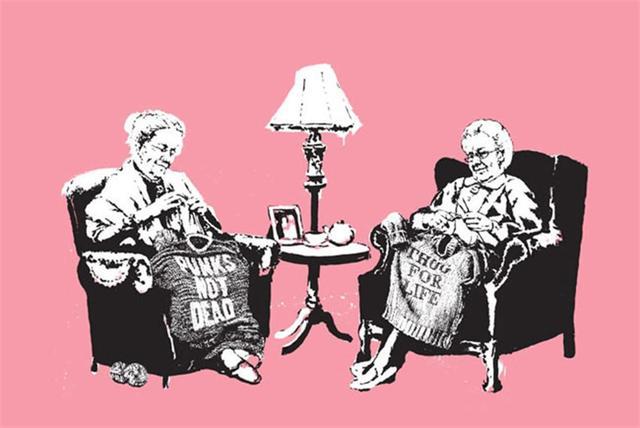 , 'Grannies,' 2006, Graffik Gallery / Banksy Editions