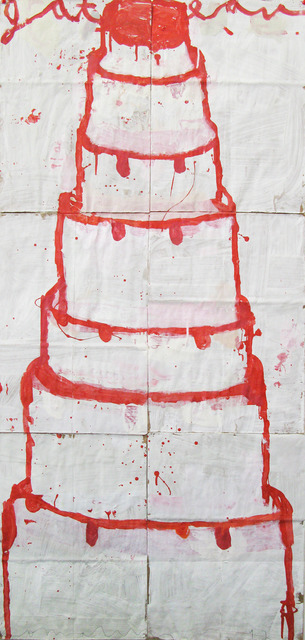 , 'Stacked Cake (red on white),' , Gail Severn Gallery