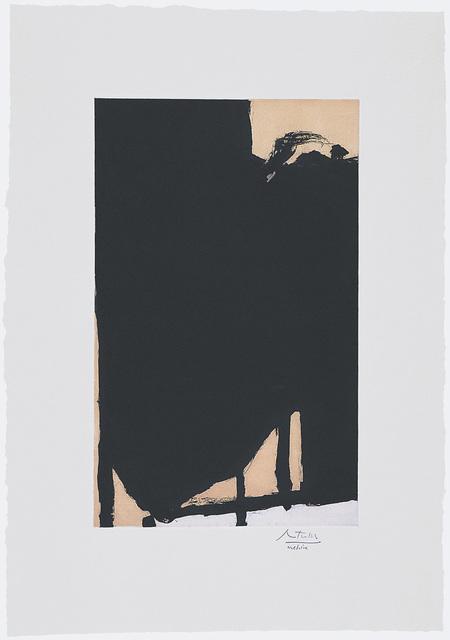 , 'Elegy Fragment II,' 1985, Dedalus Foundation