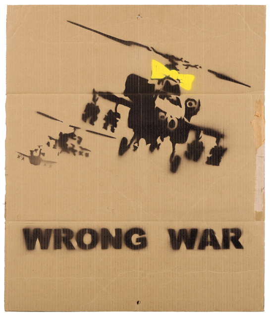 Banksy, 'Wrong War (Yellow Chopper)', 2003, Chiswick Auctions