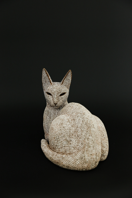 , 'Looking back cat,' 2017, Ippodo Gallery