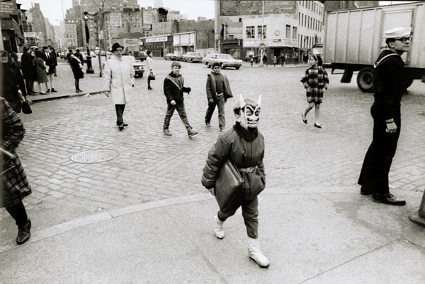 Gianni Berengo Gardin, 'Boy with Mask, New York City, NY', 1959/1960s, Contemporary Works/Vintage Works