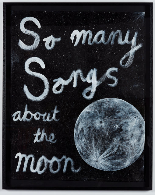 , 'So many songs about the moon,' 2019, STATION