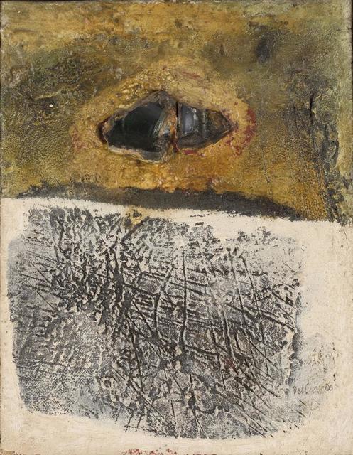 Lucio del Pezzo, 'Senza Titolo', 1958, Itineris