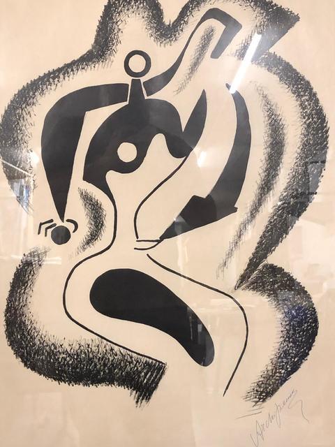 Alexander Archipenko, 'Le sculpteur', ca. 1962, Print, Original lithograph on Rives paper, Samhart Gallery