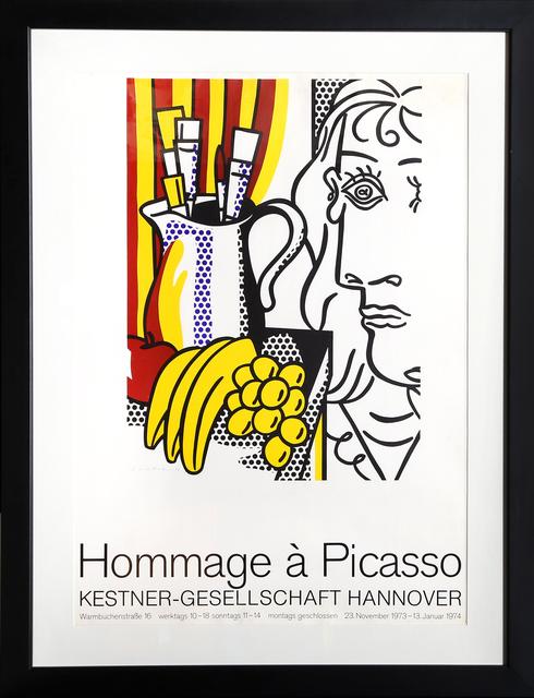 Roy Lichtenstein, 'Hommage a Picasso - Kestner-Gesellschaft Hannover', 1973-1974, Print, Poster, RoGallery