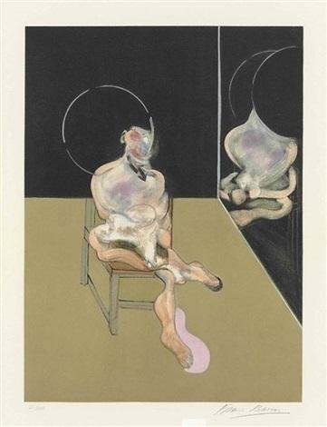 Francis Bacon, 'SEATED FIGURE (S.5)', 1983, Robin Rile Fine Art