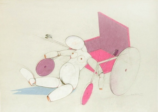 , 'Jointed Doll with Wheelchair,' 1975, Richard Saltoun