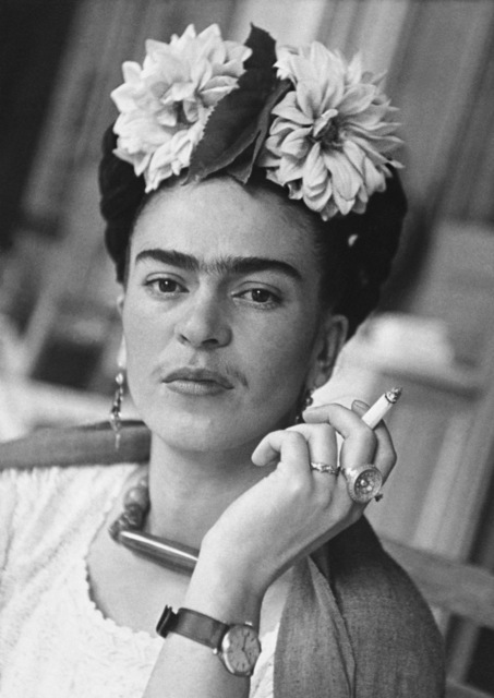 , 'Frida With Cigarette, Coyoacan,' 1941, Matthew Liu Fine Arts