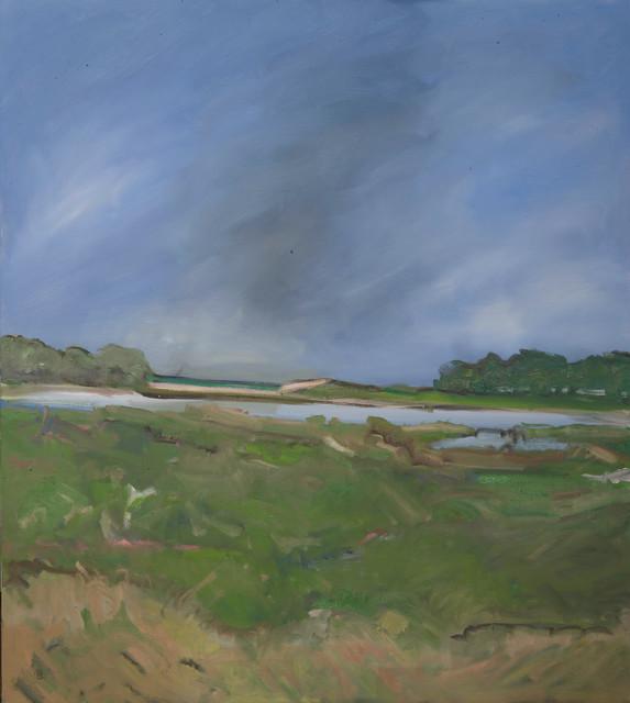 , 'Sag Pond and One Sailboat,' ca. 2018, MM Fine Art