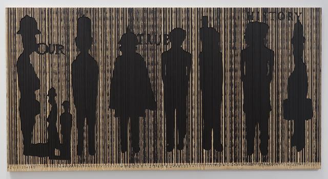 , 'Code Noir 2,' 2018, Richard Taittinger Gallery