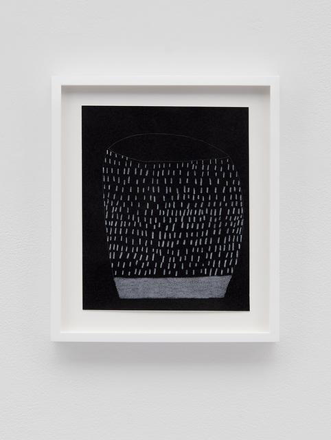 , 'Black Pot 1,' 2016, David Kordansky Gallery
