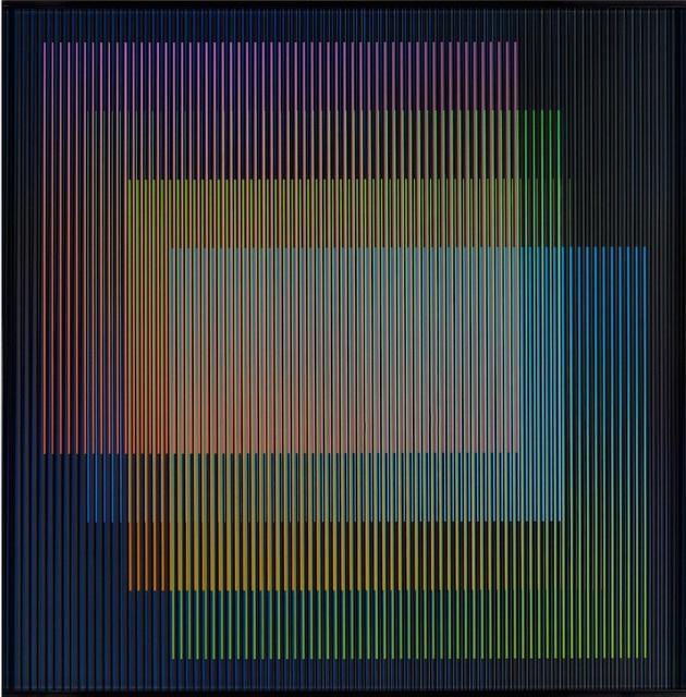 , 'Chromointerference Espacial 2,' 2015, Galería Cayón