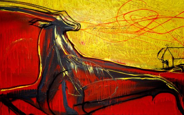 José Bedia, '¿Porqué me haces esto?', 2008, Enlace Arte Contemporáneo