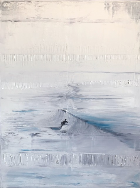 , 'Surfer,' 2018, {9} The Gallery