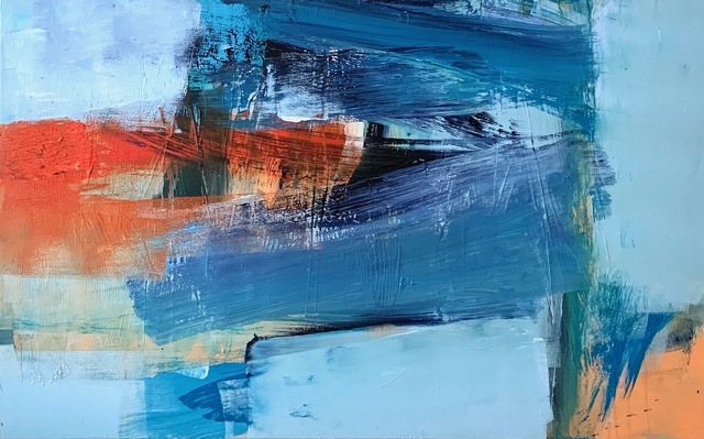 Deborah Lanyon, 'East Hill', 2019, Painting, Acrylic on stretched canvas, Joanna Bryant & Julian Page