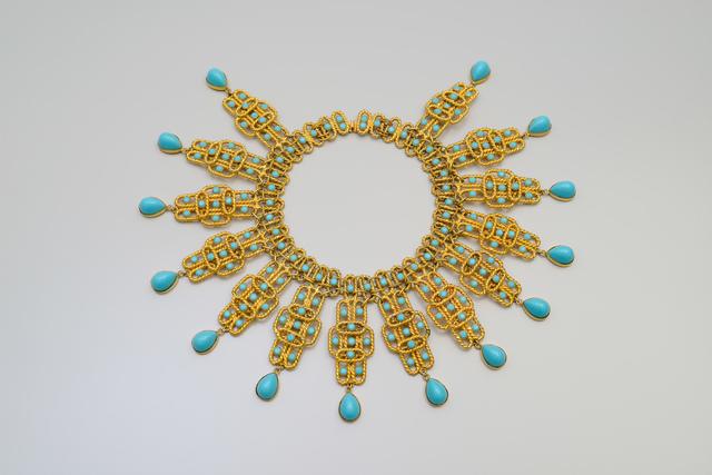 , 'Collier mit geometrischen Motiven,' 1968, Kunstgewerbemuseum