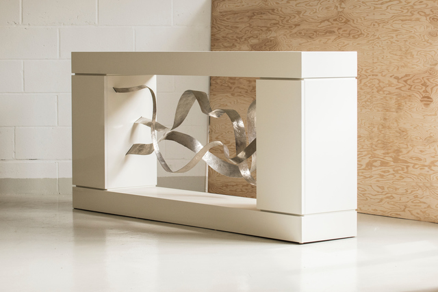 ", 'CONSOLE -Sculpture -Cabinet by JACQUES JARRIGE ""Waves"",' 2016, Valerie Goodman Gallery"