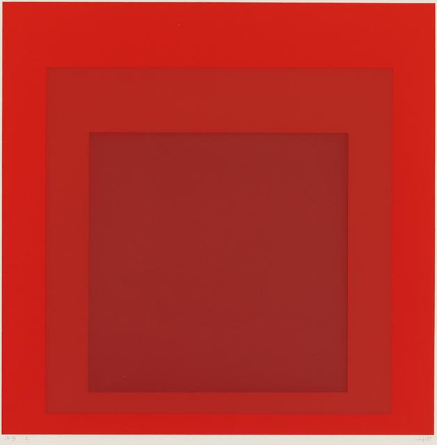 Josef Albers, 'GB 2', 1969, Susan Sheehan Gallery