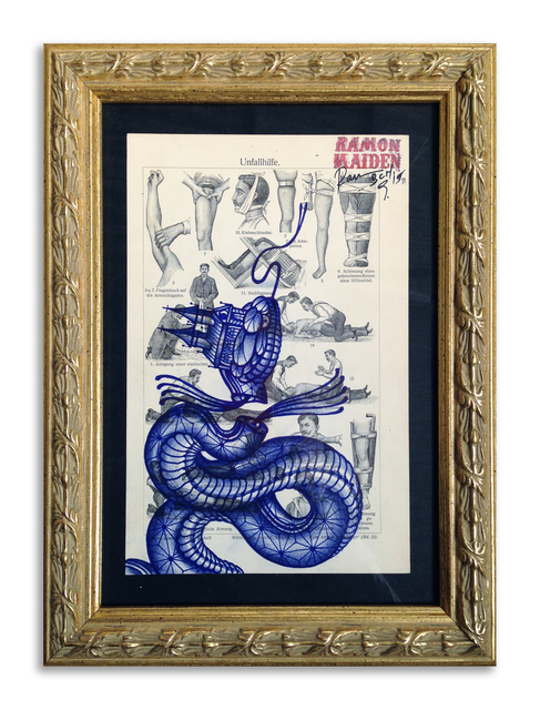 , ''The Snake Cure',' 2015, StolenSpace Gallery