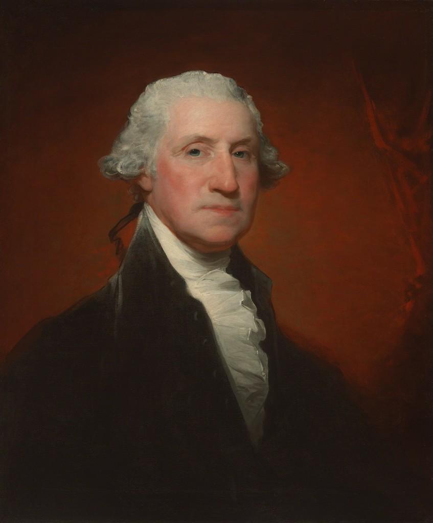 How the Unfinished Athenaeum Portrait of George Washington