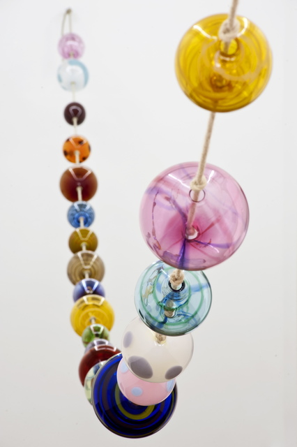 Kaspar Müller, 'Untitled', 2018, Mixed Media, Handblown glass, rope, AGUIRRE 
