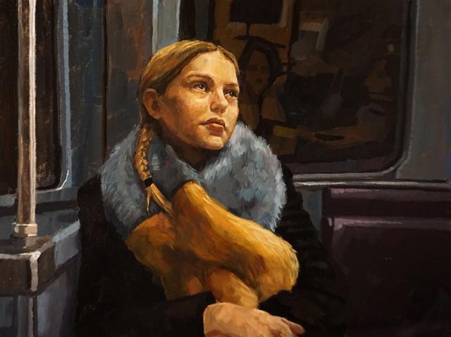 , 'Girl on the Tube,' , GALLERI RAMFJORD